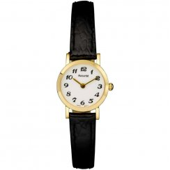 Accurist Ladies' 9ct Strap Watch GD11601WA