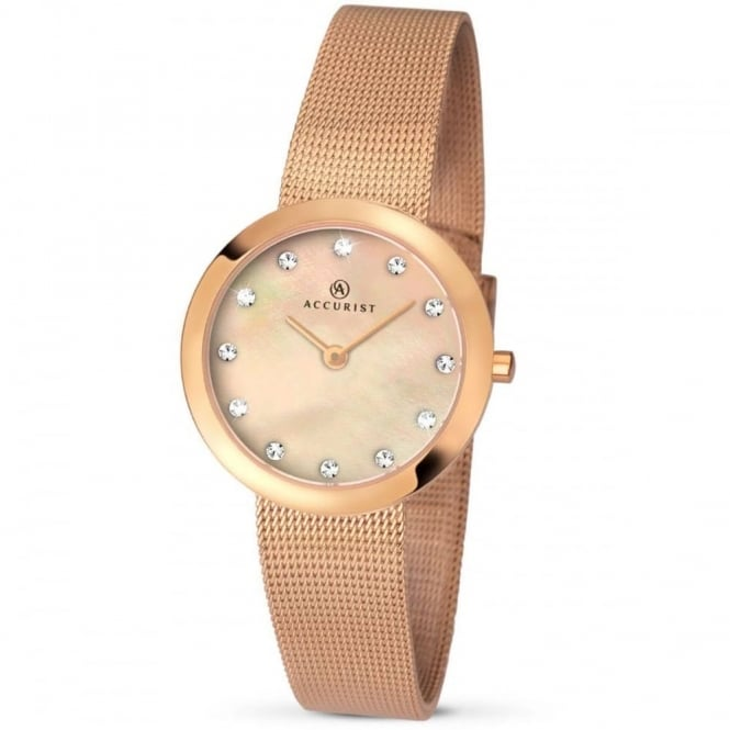 Accurist Ladies' Mesh Bracelet Watch 8128
