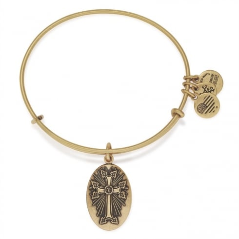 Alex and Ani Armenian Cross Charm Bangle A16EBACRG
