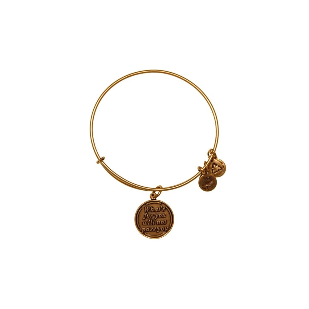 26f723c6ff6e2 Alex and Ani Alex and Ani What's For You Will Not Pass You Charm Bangle  A12EB35RG