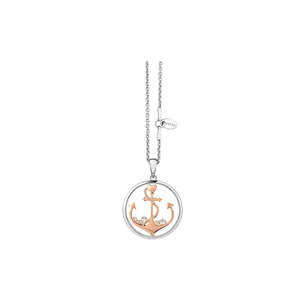 Astra jewellery sterling silver anchor the soul pendant myp001srg astra jewellery sterling silver anchor the soul pendant myp001srg aloadofball