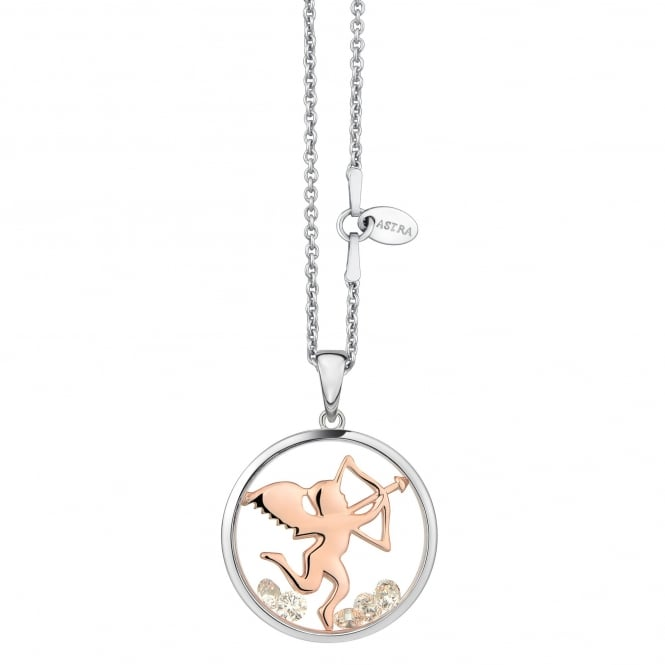 Astra Jewellery Sterling Silver Be Mine Pendant MYP002S/RG