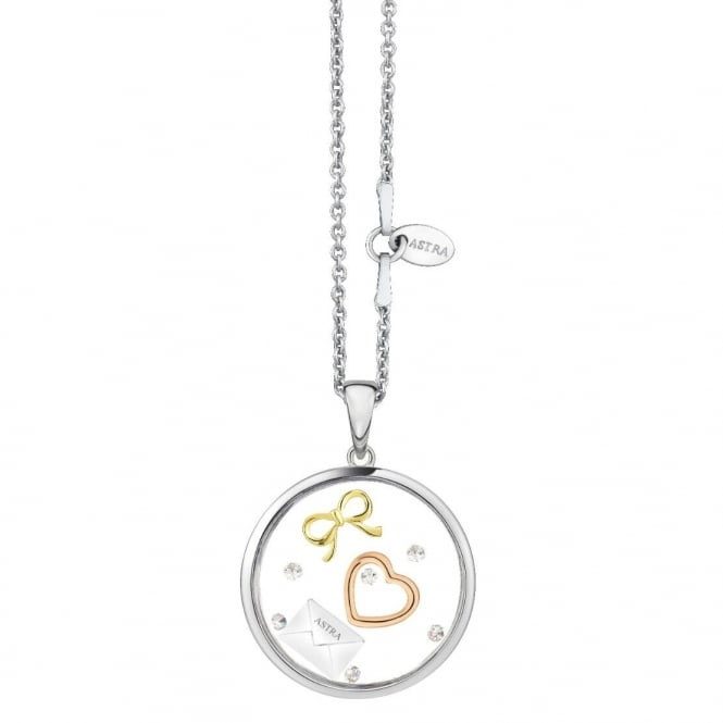 Astra Jewellery Sterling Silver I Am Yours Pendant FRP006S
