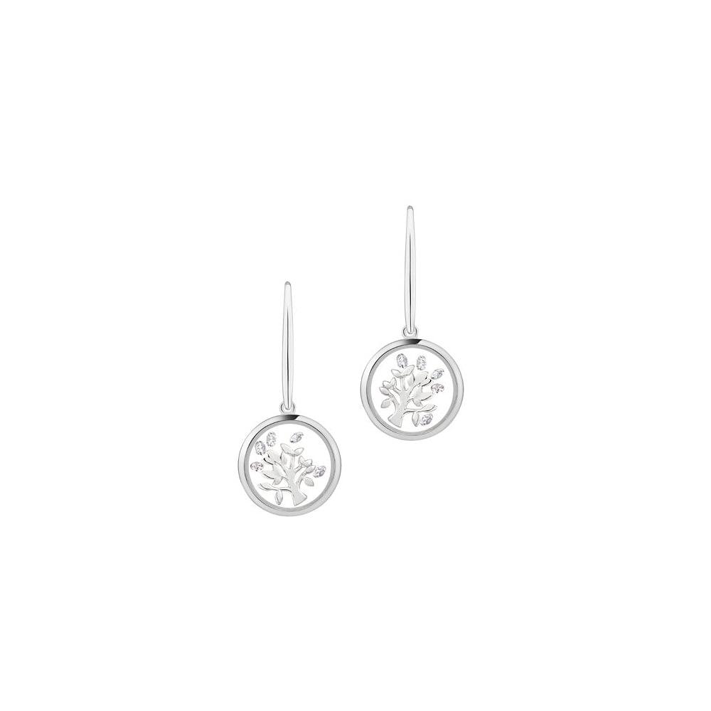 Astra Jewellery Sterling Silver Tree Earrings Fre06