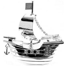 Bambino by Juliana Pirate Ship Money Box CG273