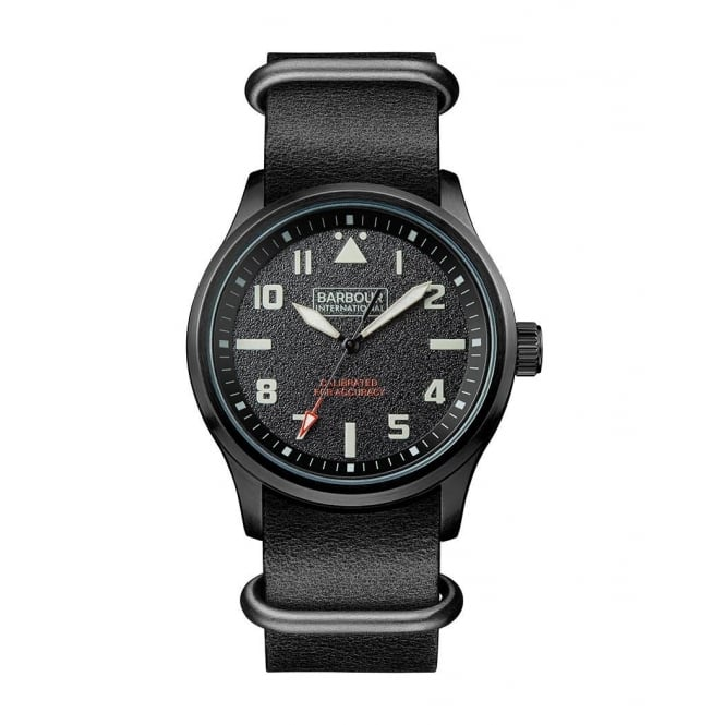 Barbour Men's Bywell Strap Watch BB052BKBK