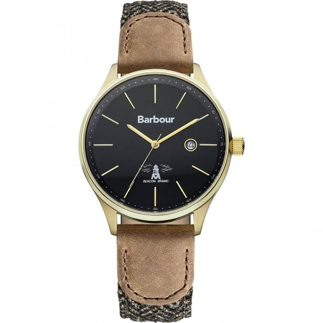Barbour Men's Glysdale Strap Watch BB021GDHB