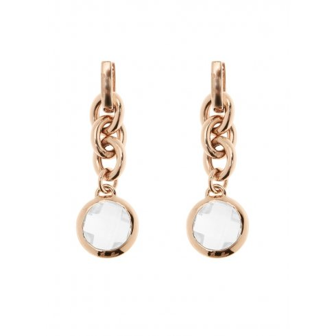 Bronzallure Rose Gold Plated Drop Earrings WSBZ00309.C