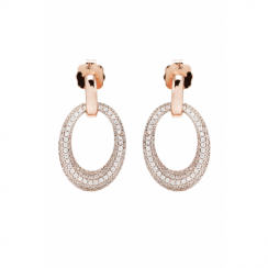 Bronzallure Rose Gold Plated Earrings WSBZ00573.WR