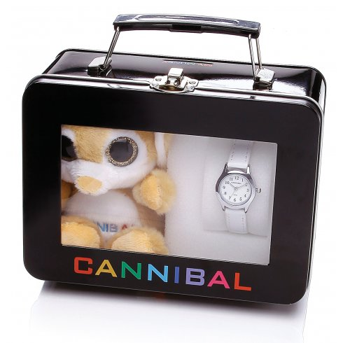 Cannibal Kids Watch Set with Cuddly Toy CJ245-09S