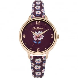 Cath Kidston Ladies' Geo Flower Watch CKL042RRG