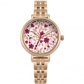 Cath Kidston Ladies' Littlemore Flowers Watch CKL037RGM