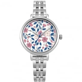 Cath Kidston Ladies' Littlemore Flowers Watch CKL037SM