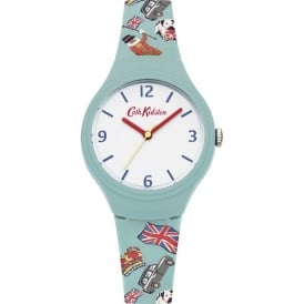 Cath Kidston Ladies' London Stamps Watch CKL026N