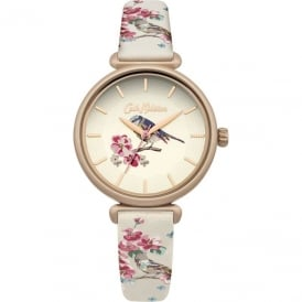 Cath Kidston Ladies' Scattered Meadowfield Birds Watch CKL041EG