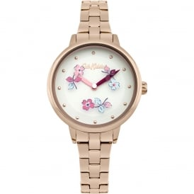 Cath Kidston Ladies' Welham Flowers Watch CKL039RGM
