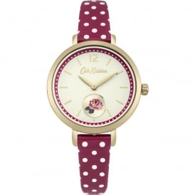 Cath Kidston Ladies' Wells Rose Berry Spot Watch CKL036RG