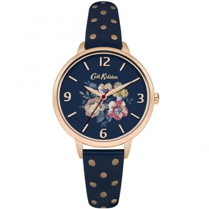 Cath Kidston Ladies' Windflower Bunch Watch CKL004URG
