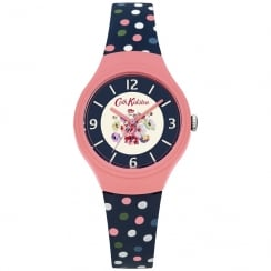Cath Kidston Mallory Bunch Silicon Strap Watch CKL027UP