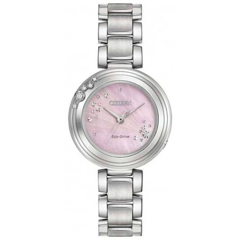 Citizen Ladies' Eco-Drive Carina Diamond Set Watch EM0460-50N