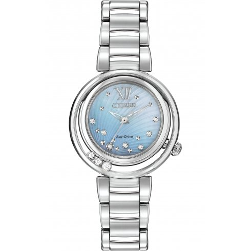 Citizen Ladies' L Sunrise Diamond Eco-Drive Watch - EM0320-59D