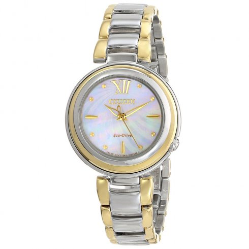 Citizen Ladies' L Sunrise Eco-Drive Watch - EM0337-56D