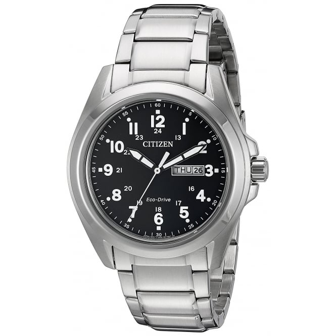 Citizen Men's Eco-Drive Bracelet Watch AW0050-82E