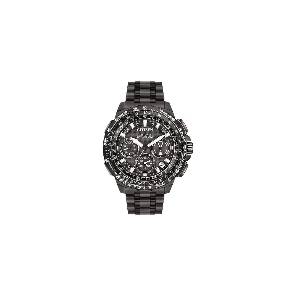 abb4a4f11dd Citizen Men  039 s Eco-Drive Promaster Navihawk GPS Titanium Watch CC9025-