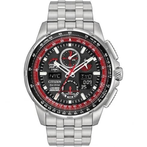 Citizen Men's Eco-Drive Red Arrows Skyhawk A.T Radio Controlled Watch JY8059-57E