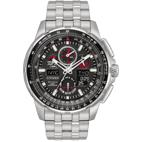 Citizen Men's Eco-Drive Skyhawk A.T Radio Controlled Watch JY8050-51E