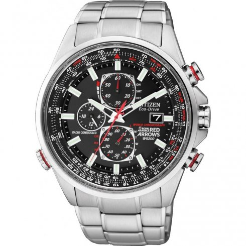 Citizen Red Arrows Chronograph Watch AT8060-50E
