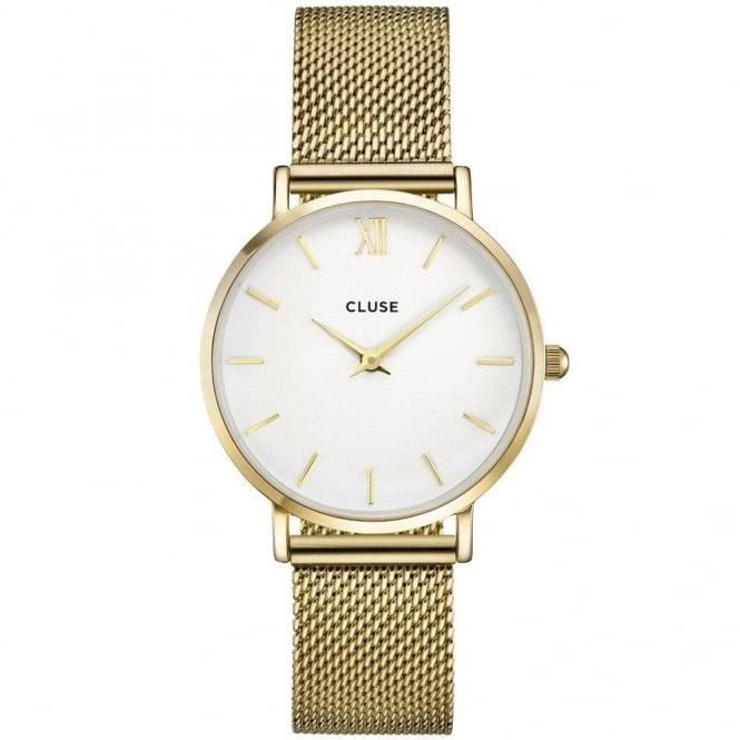 Cluse Ladies' Minuit Mesh Watch CL30010
