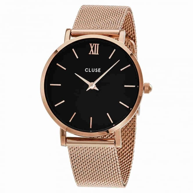 Cluse Ladies' Minuit Mesh Watch CL30016