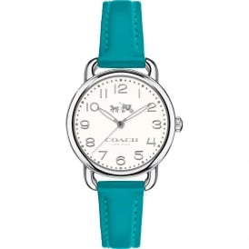 Coach Ladies Charlotte Leather Strap Watch 14502611
