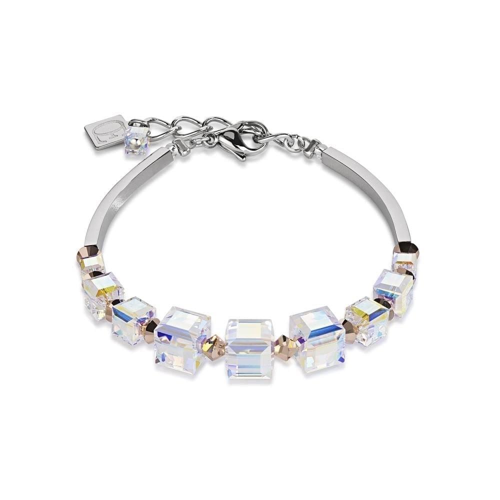 Coeur De Lion Coeur De Lion Rose Gold Swarovski Crystal Bracelet  4883/30-1620