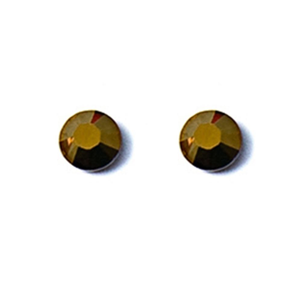 Coeur De Lion Swarovski Elements Stud Earrings Beige 0042 21 1000