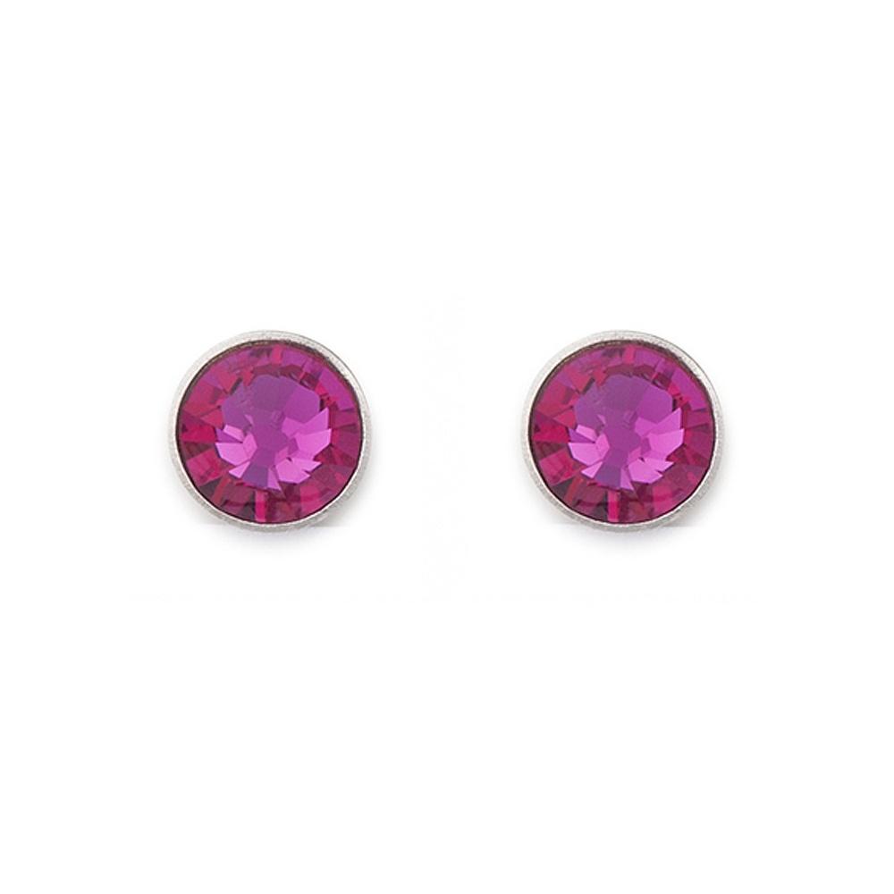 Coeur De Lion Swarovski Elements Stud Earrings Pink 0042 21 0400