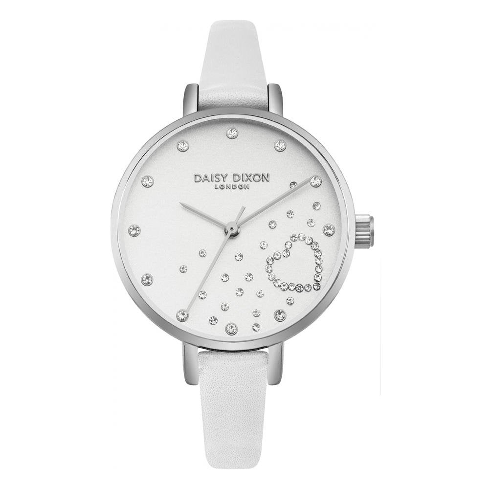 Daisy Dixon Ladies  Zara Strap Watch DD083WS - Watches from Lowry ... bcca6536173d