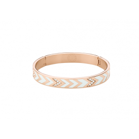 Dyrberg/Kern Aponi II White Bangle 343478