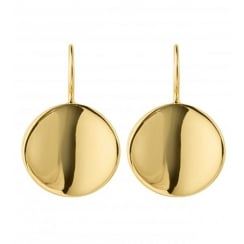 Dyrberg/Kern Gaia Shiny Gold Plated Earrings 340605