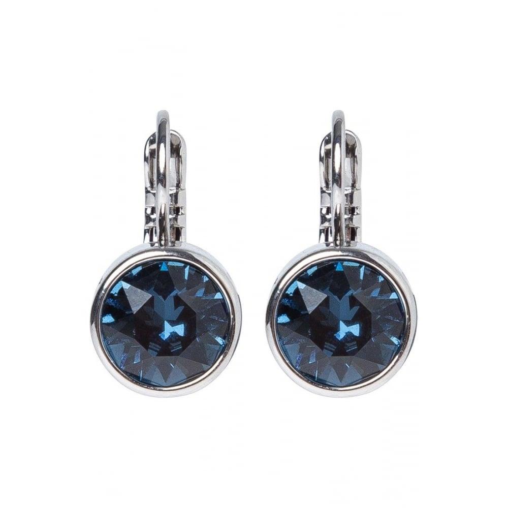 Dyrberg Kern Louise Dark Blue Earrings 340404