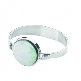 Dyrberg/Kern Ronin Grey Mother of Pearl Bangle 343838