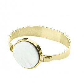 Dyrberg/Kern Ronin Mother Of Pearl Bangle 343840