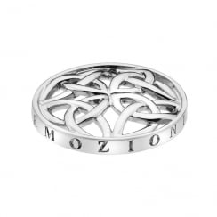 Emozioni 25mm Celtic Knot Coin EC294