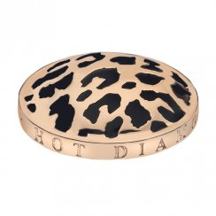 Emozioni Leopard Rose Gold Plated Coin - EC079
