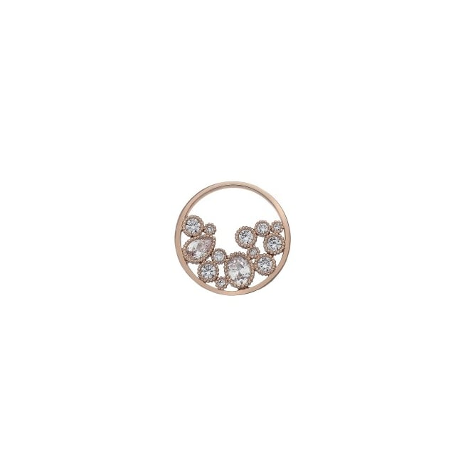 Emozioni Spirito Libero Rose Gold Plated 25mm Coin EC446