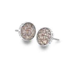 Emozoini Scintilla Champagne CZ Earrings DE454