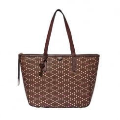 Fossil Ladies' Sydney Cordovan Shopper Bag ZB5491603