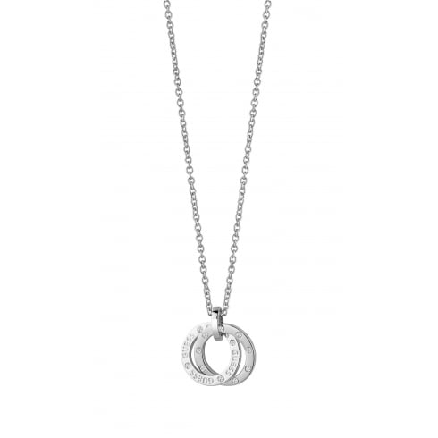 Guess Jewellery E-Motions Small Circles Necklace UBN83103