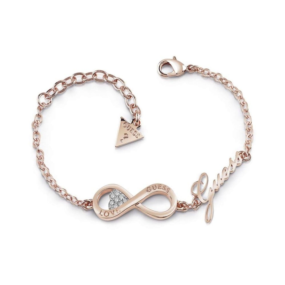 Guess Jewellery Endless Love Infinity Bracelet Ubb85066 L